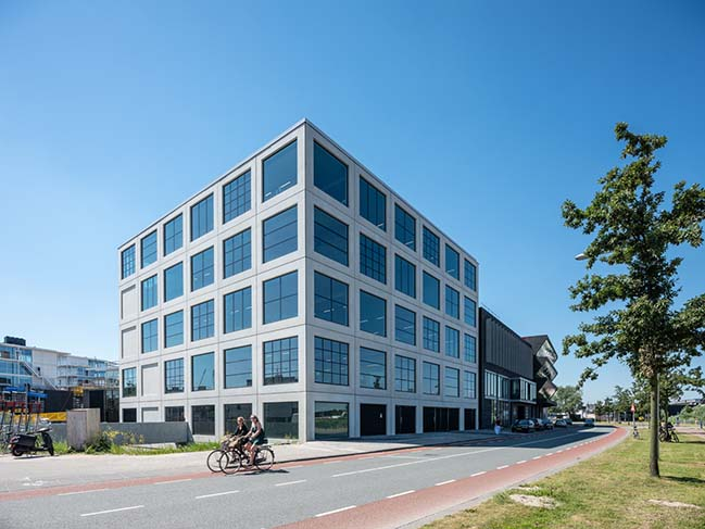 MVRDV complete a creative industries office block in Amsterdam