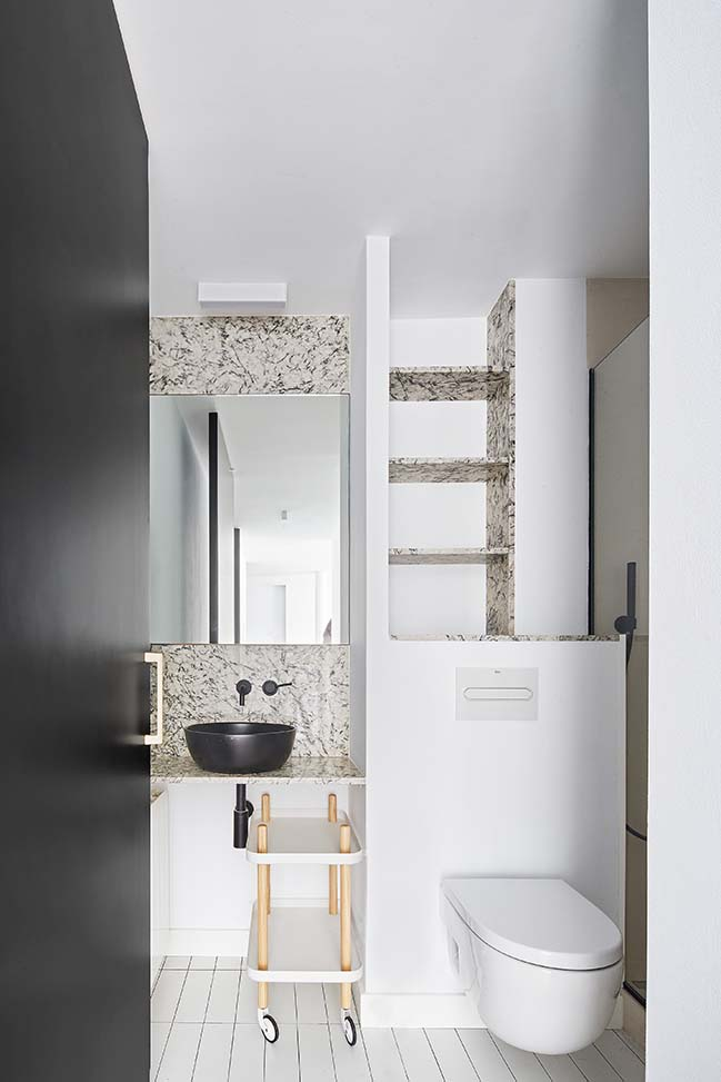 Sardenya Apartment in Barcelona by Raul Sanchez Architects