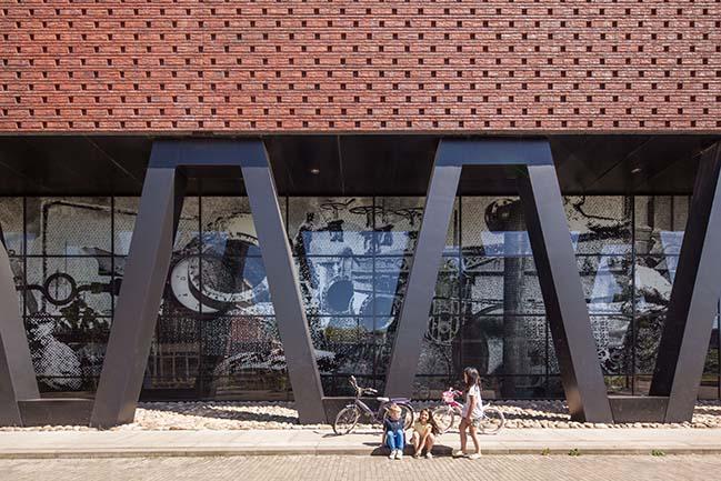 Mecanoo completes Masterplan Villa Industria in Hilversum