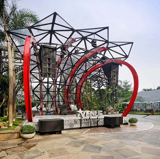 Stage and Canopy in Kemang AOS by ILATAAJ