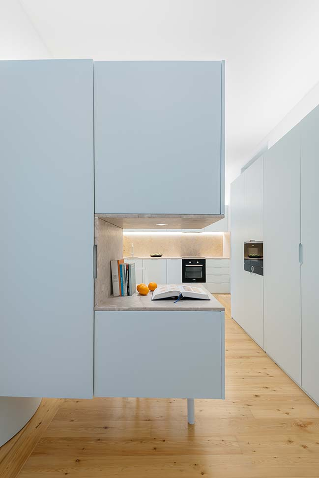 3 Pombalino Apartments by Aurora Arquitectos