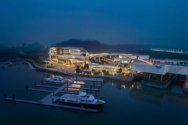 UNStudio Asia Completes Keppel Cove Marina & Clubhouse