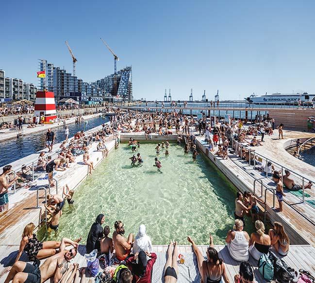 Aarhus Harbor Bath by Bjarke Ingels Group