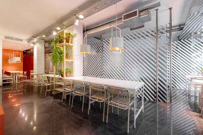 Cafeteria Lapana by SY Architects
