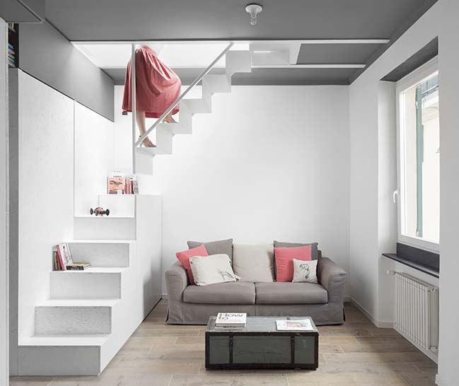 Cranes Attic in Genova by Gosplan Architects