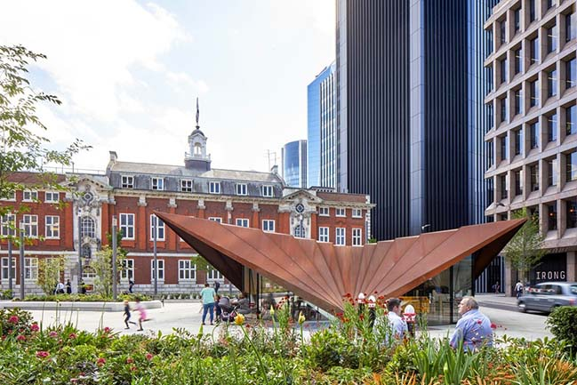 Make Unveils New Monocoque Pavilion for City of London