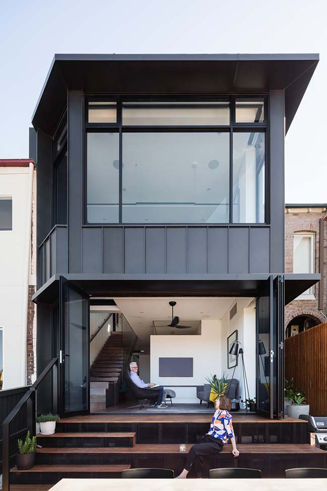 Doorzien House in Sydney by Bijl Architecture