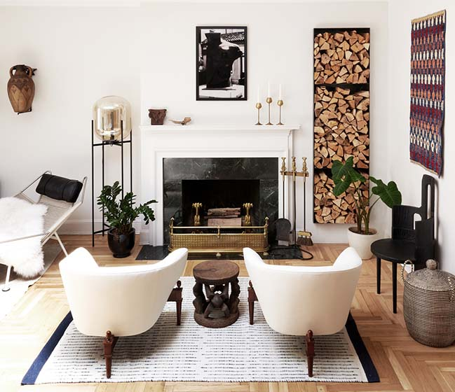 The Barclay Apartment in New York by Handwerk Art and Design