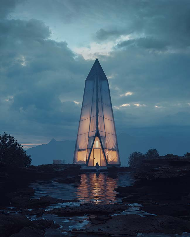Northern Wisps by Bartosz Domiczek