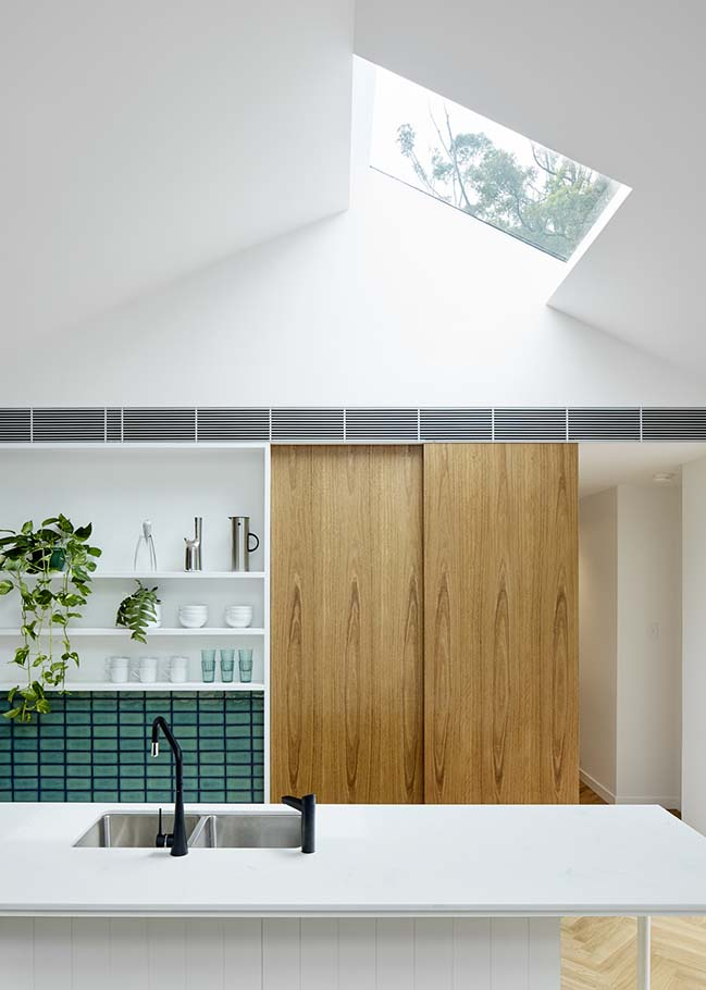 Skylit House in Sydney by Downie North Architects