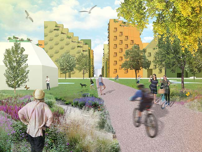 Hyde Park in the Netherlands by MVRDV