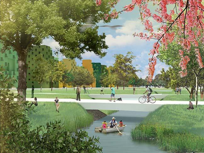 Hyde Park in the Netherlands by MVRDV