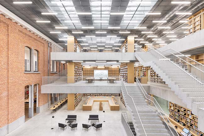 Utopia - Library and Academy for Performing Arts by KAAN Architecten
