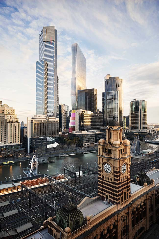 OMA presents competition entry for Southbank by Beulah Tower