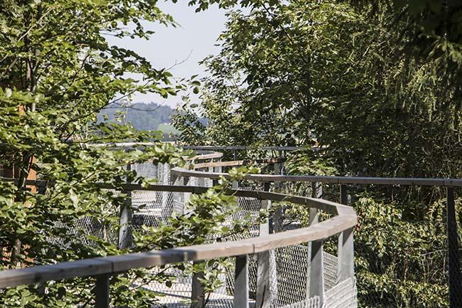 Zero Real Estate in Wildhaus by Atelier für Sonderaufgaben