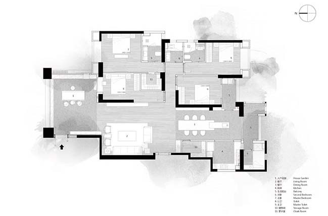 An elegant residence purifying your mind by AD ARCHITECTURE