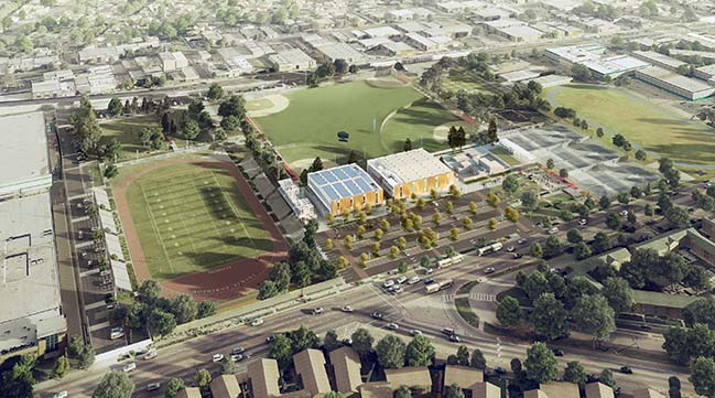 Rancho Cienega Sports Complex by SPF:architects begins construction in September