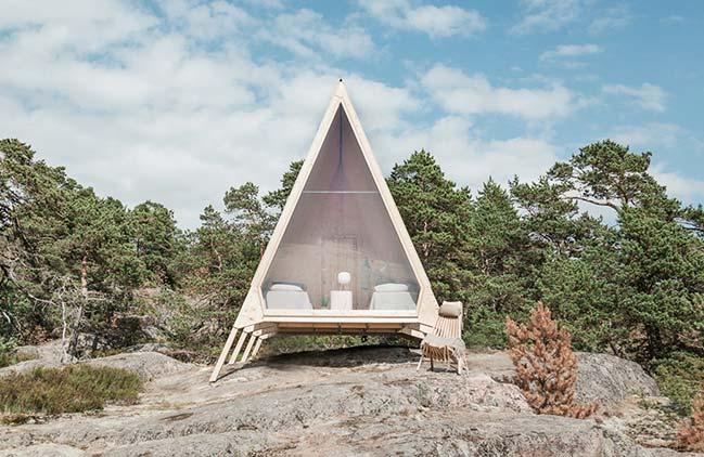 Nolla Cabin in Helsinki by Mr. Falck Studio
