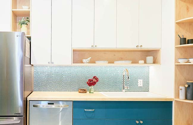 Fifth Avenue Kitchen by Handwerk Art and Design