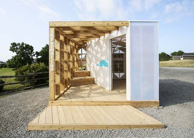 Welcome Pavilion in Wellington by Studio North