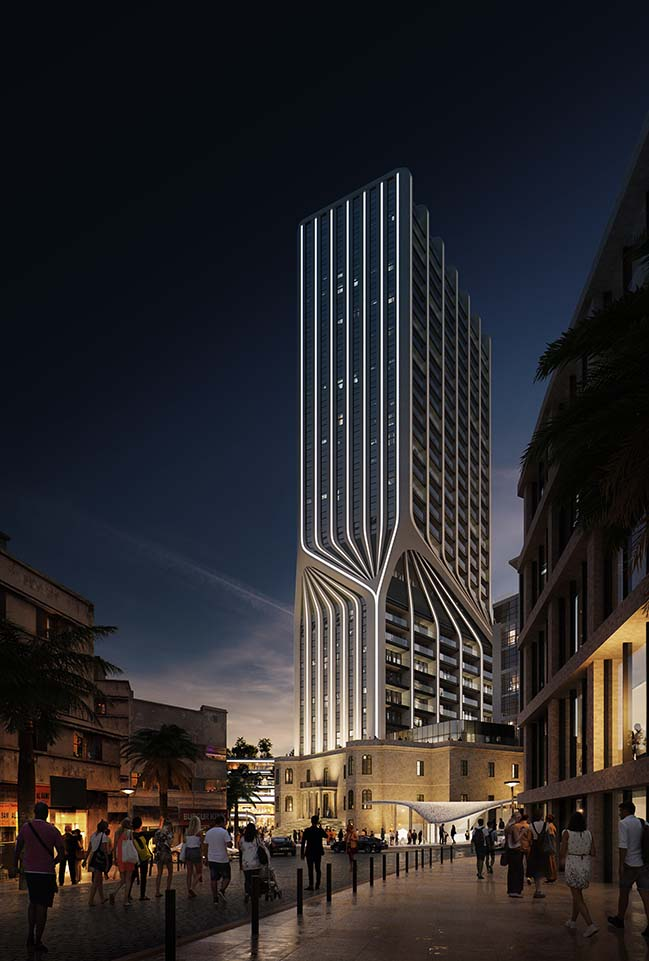 Mercury Tower by Zaha Hadid Architects