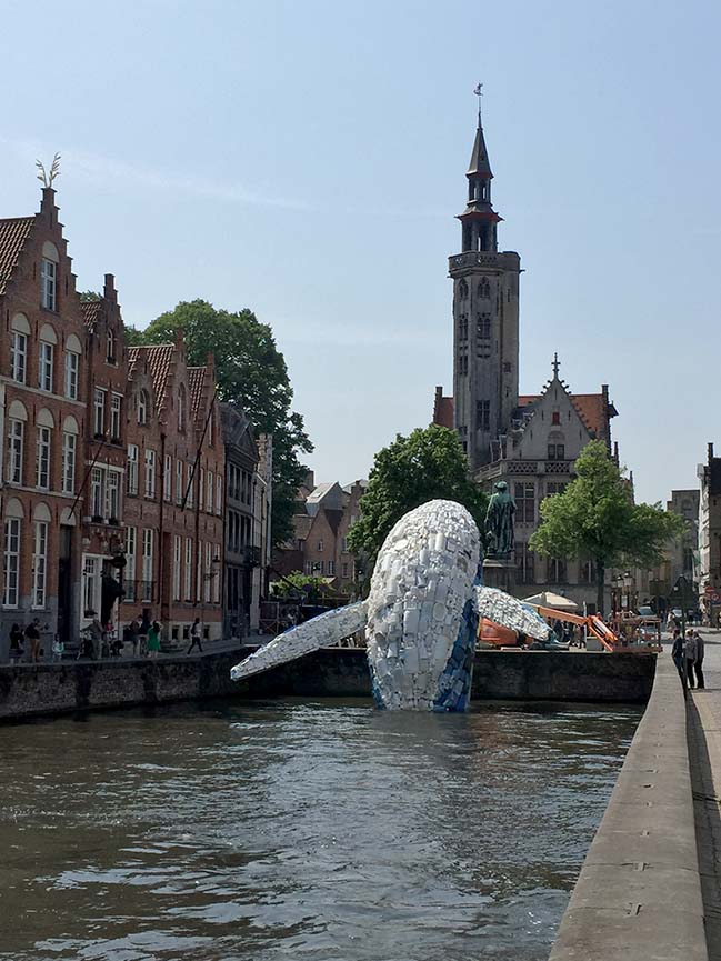 Skyscraper (The Bruges Whale) by Studio KCA