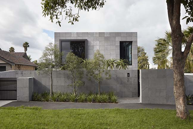 Quarry House in Melbourne by Finnis Architects