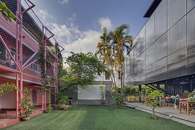 The Courtyard in Bengaluru by M9 Design Studio