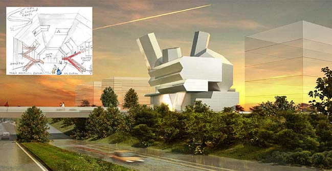 Steven Holl wins University College Dublin's Future Campus Competition