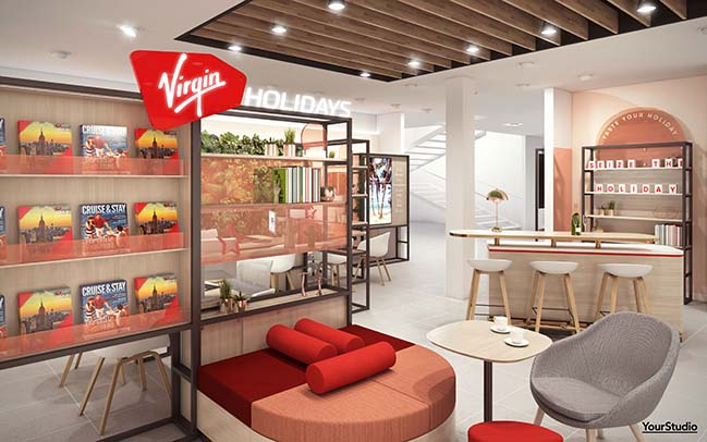 Virgin Holidays v-rooms by YourStudio