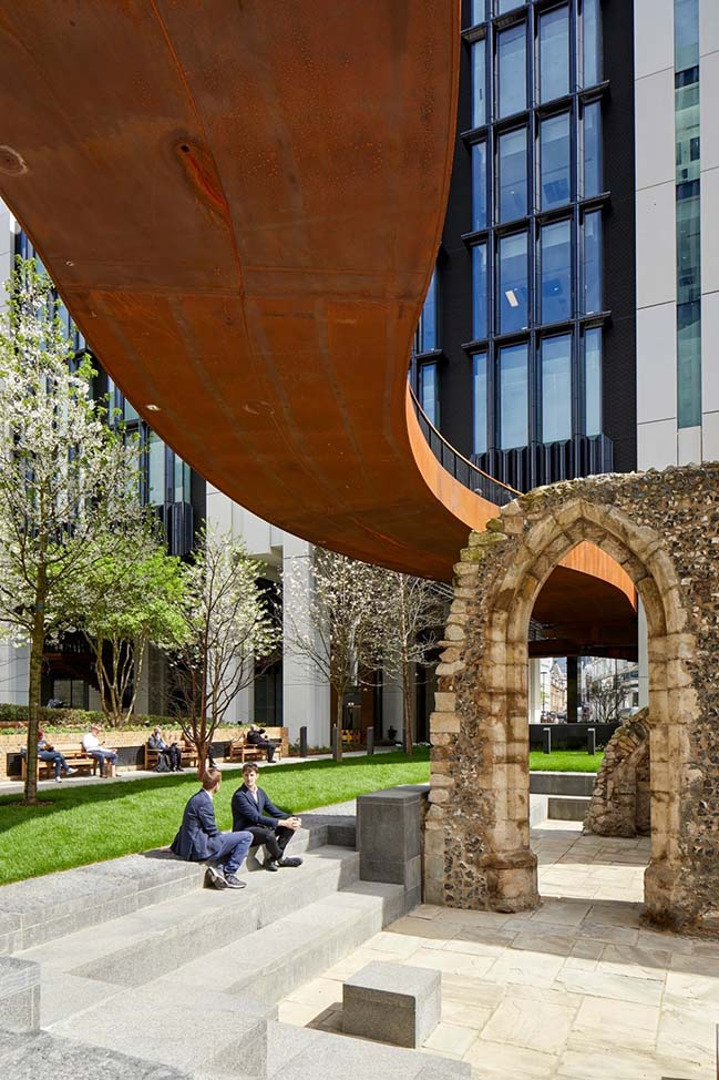 London Wall Place: Building on history by Make Architects