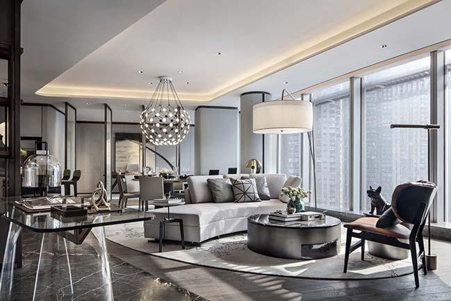 Super Villa - President Mansion interior design by CCD/Cheng Chung Design (HK)