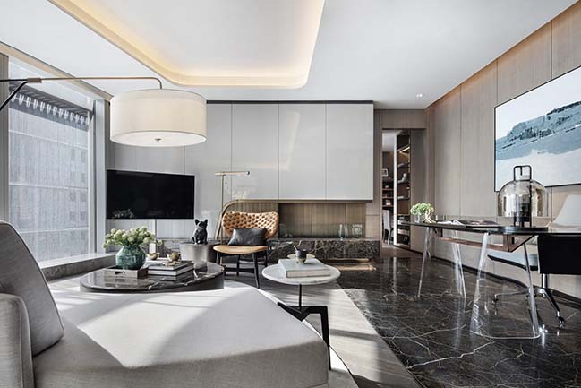 Super Villa - President Mansion interior design by CCD/Cheng Chung Design (HK)