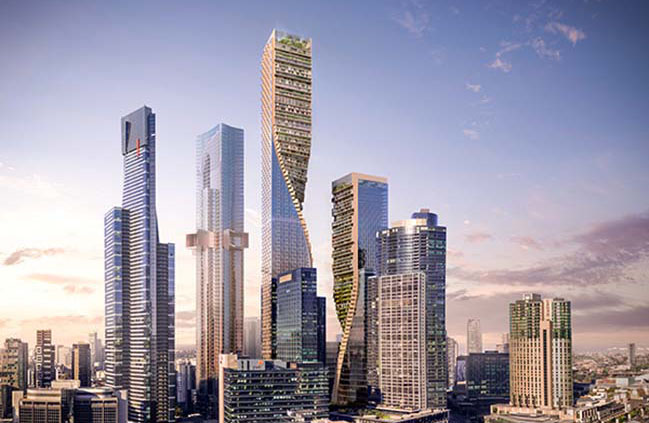 UNStudio selected to build the tallest tower in Australia