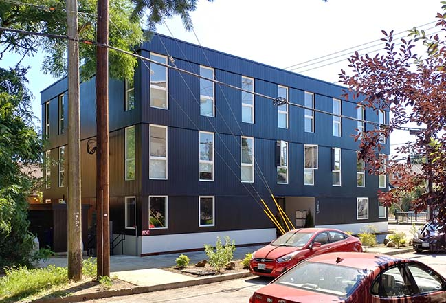 Jarrett Street 12 in Portland by Architecture Building Culture