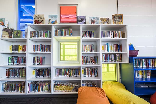 Bulimba State School Library and Classroom Building by Biscoe Wilson Architects