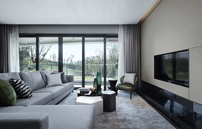 Two luxury homes in Chengdu by Qianxun Design