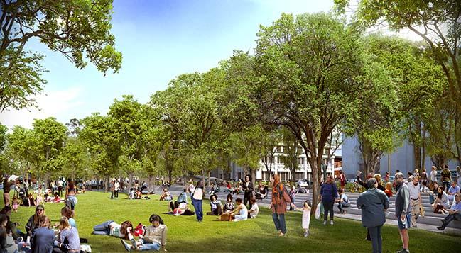Miller Park by Spackman Mossop Michaels and Eskew Dumez Ripple