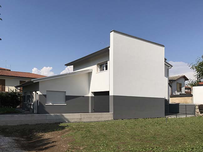 So & So Studio completed a home for a blind client in Thiene