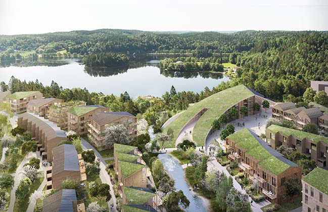 Snøhetta Designs A Model for Sustainable Living on Sweden West Coast