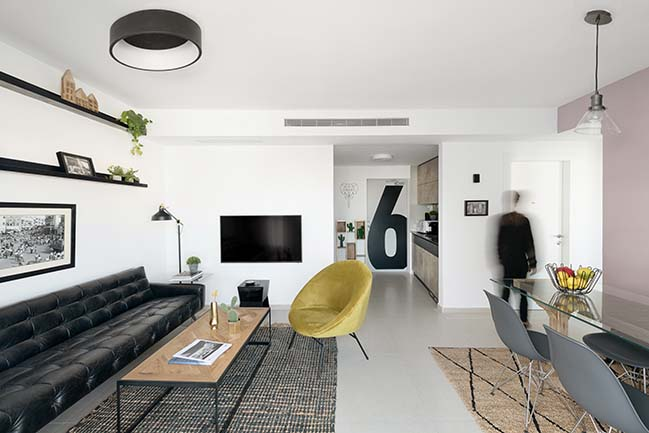 70sqm apartment in Tel Aviv by Studio Perri