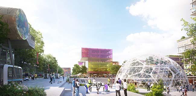 Hilversum Media Park 2030 by UNStudio