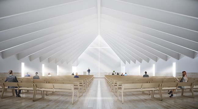 Pullenvale Church in Brisbane by Hogg&Lamb