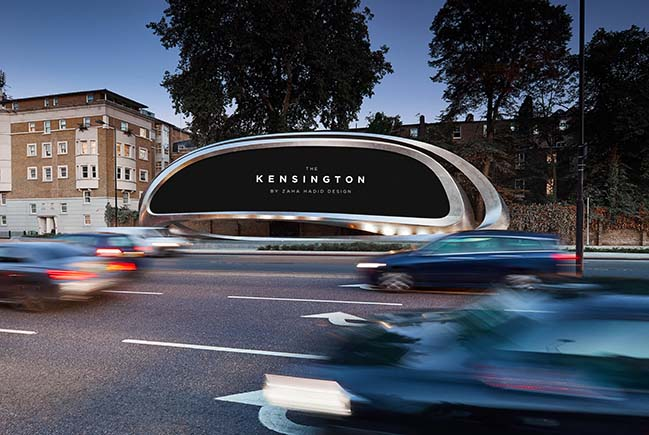 JCDecaux unveils The Kensington, a sculptural digital canvas by Zaha Hadid Design