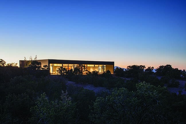 Sundial House in New Mexico by Specht Architects