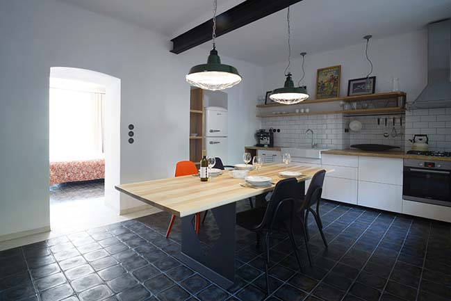 Flat for Two in Znojmo by ORA - Original Regional Architecture