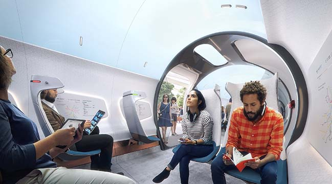 Hyperloop Station of the Future by UNStudio