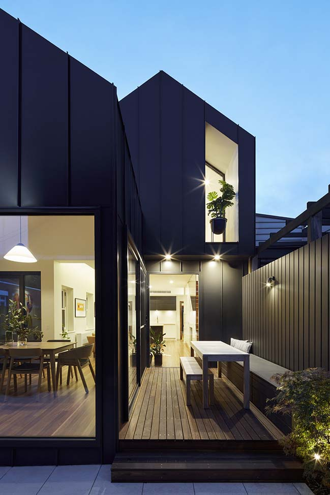 Shadow House in Melbourne by Nic Owen Architects