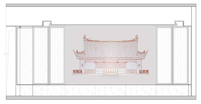 Han Shang Lou Restaurant by JINGU PHOENIX SPACE PLANNING ORGANIZATION