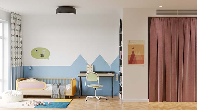 Banana Flat by Zrobym Architects